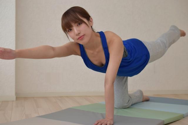 筋肉アップはバランスよくする