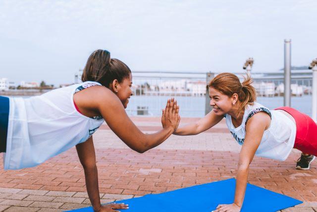 まずは軽い運動で楽しさを感じてみる